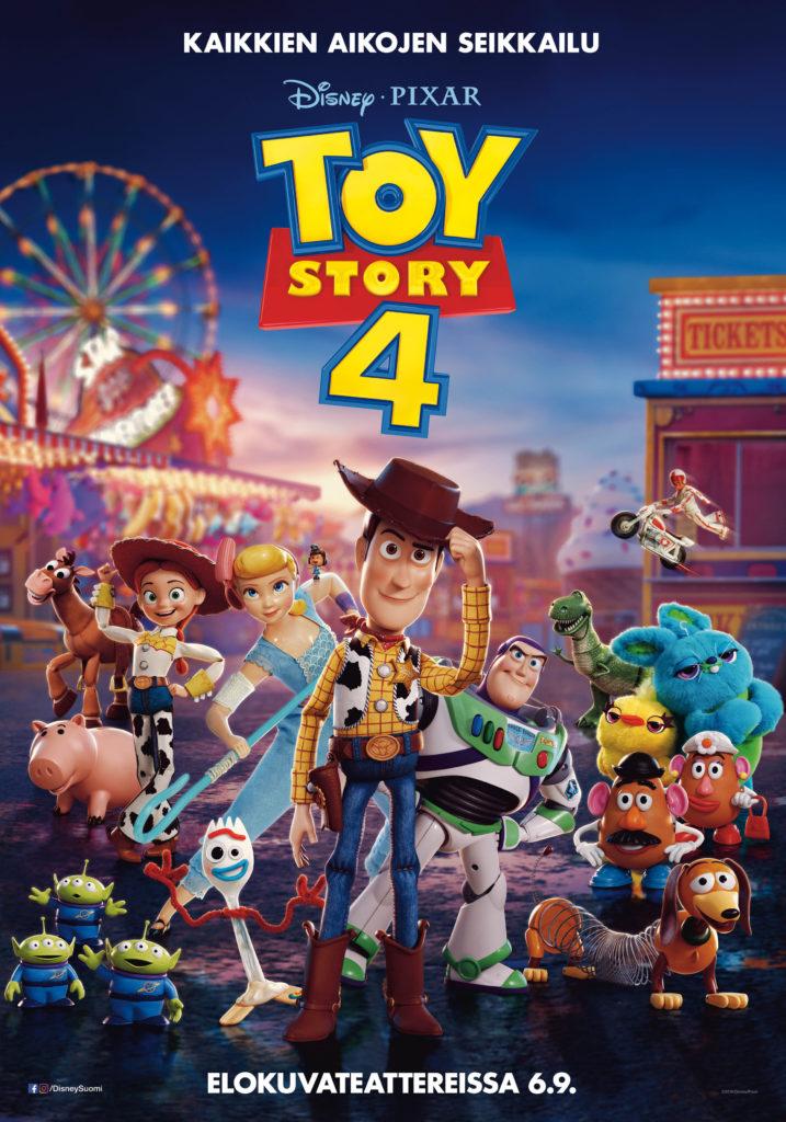 Toy Story 4 -elokuvan juliste